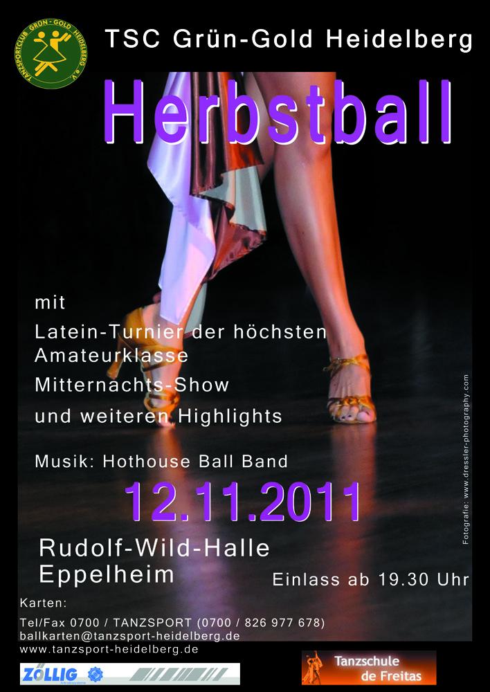 herbstball 2011 tanzsportclub gr n gold heidelberg e v. Black Bedroom Furniture Sets. Home Design Ideas